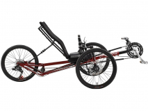 Recumbent-trike EZ-TAD SX Tadpole 20in by SUNSEEKER with or w/o Electric Motor