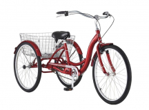 Schwinn Meridian Adult Trike, 26in with Electric Assist