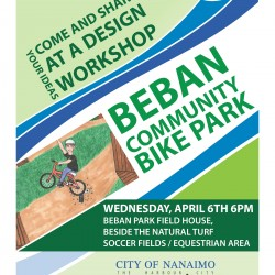 Be heard!  Come to the Beban Community Bike Park Meeting, April 6, 2016