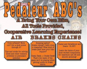 ABCs Workshop - learn to fix air, brakes, chains